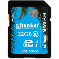 Kingston SDHC 32GB Ultimate UHS-I Class 10 memóriakártya