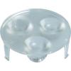 Conrad 3 részes LED optika P4-Z-Power-LED modulhoz, 45 °, Barthelme 61002545