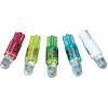 Conrad LED izzó, W2 x 4,6 d, 24-28 V, zöld, T5 Wedge Base Lamp (Dome), Barthelme 70112218