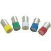 Conrad LED izzó, BA9s, 24-28 V, borostyán, T10 BA9S Multi 2Chips Flat Lamp, Barthelme 70113090