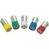 Conrad LED izzó, BA9s, 220 V, fehér, T10 BA9S Multi 4Chips Flat Lamp, Barthelme 70113298