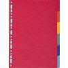 Exacompta elválasztó lap  A4  6db/csomag