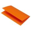 Rössler Papier GmbH and Co. KG Rössler B/6 karton  2 részes 120/240x169 mm 220gr. narancs