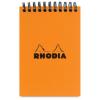 Clairefontaine Rhodia Classic narancs spirálblokk  80lap  kockás  7 5x10 5cm