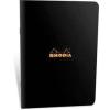 Clairefontaine Rhodia Classic fekete füzet  vonalas 48lap  14 8x21cm