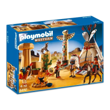 Playmobil Indiántábor totemoszloppal - 5247 playmobil