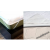 Vízzáró matracvédő, frottir/ PVC, 90x200 cm - Naturtex