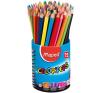 MAPED Color`Peps színes ceruza készlet, háromszögletű, ceruzatartó színes ceruza
