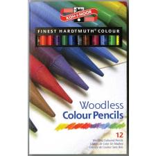 KOH-I-NOOR Progresso 8756/12 színes ceruza készlet, famentes, 12db/csom színes ceruza