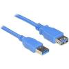 DELOCK 82538 USB3.0-A (apa/anya), 1 méteres kábel