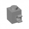 LEGO Brick 1X1 W/ Holder, Vertical