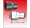 KPE-Tokos egyenes szűkítő 90/50 sütős hűtés, fűtés szerelvény