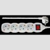 Emos P1422 4CS 2m kapcsolós hosszabbító-elosztó