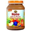 Holle bio bébiétel, alma szilvával