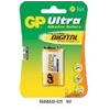 GP BATTERIES GP Ultra alkáli 9V 1db/blister elem