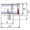 Tricox Alu kondenzátum leválasztó 80mm fehér