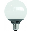 LED-G95-9W E27 3000K (melegfehér), LED izzó, fehér dobozban