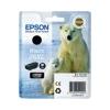 Epson T26214010 Tintapatron XP 600, 700, 800 nyomtatókhoz, EPSON fekete, 12,2ml