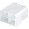4 pólusú műanyagház hüvelyes csúszósarukhoz