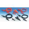 MultiContact Mérőkábel készlet banándugós mérőzsinórokkal és mérőcsipeszekkel MultiContact SET3000345