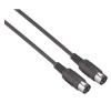 Paccs MIDI kábel 1,5 m (dugó/dugó), fekete, Paccs kábel és adapter