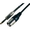 Paccs Adapter kábel 3 m, sztereo 6,3 jack dugó/XLR dugó, Paccs