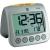 TFA Rádiójel vezérelt digitális ébresztőóra hőmérővel, 98 x 112 x 110 mm, TFA Sonio 60.2514