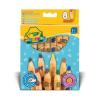 Crayola Sokszögű vastag ceruza- 8 darabos 03678
