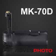 Meike Meike Canon EOS 70D markolat, Canon BG-E14 megfelelője markolat