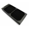 XSPC Dual Fan Radiator AX240 - 240mm Fekete
