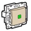 Valena váltókapcsoló jelzőfény (250V~/10AX) elefántcsont
