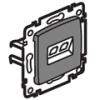 Valena RJ11 telefon dupla aljzat, alumínium