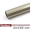 Fantasy karnis rúd hosszbordás - antik réz - 240 cm
