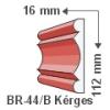 Kültéri díszléc BR-44/B - felületkezelt