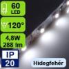 LED szalag beltéri (3528-060-FN) - fehér (hideg)