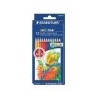 STAEDTLER Színes ceruza készlet, hatszögletû, STAEDTLER Noris Club, 12 különbözõ szín
