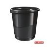ESSELTE Papírkosár, 14 liter, ESSELTE Europost, Vivida fekete