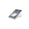 STAEDTLER Rollertoll készlet, 0,4 mm, STAEDTLER Triplus, 10 különbözõ szín