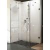 Ravak Brilliant BSDPS-100x100 balos Króm+Transparent zuhanykabin