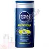 Nivea For Men Energy Tusfürdő & Sampon 250 ml