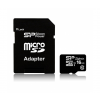 Micro SDHC CARD 16GB Silicon Power UHS-I Superior + adapter (90MB/s | 45MB/s)