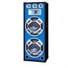 Skytec PA hangfal Skytec, 2 x 38 cm, kék LED fény, 1000W