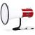 Auna megafon, 80 W, hangszóró, sziréna, 1000 m