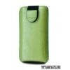 Redpoint iPhone 4/4S méretű bőr slim tok, Zöld