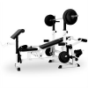 KLARFIT edzopad, bench press, curl pult, butterfly