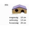 Kerámia M056 sátortetős ház kicsi