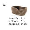 Kerámia M027 ültető edény fatörzs