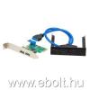 iTec I-tec USB 3.0 hosszabbító szett PCI Express 4 x USB 3.0 + Extender USB 3.0