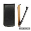 CELLECT HTC One Mini Flip bőr tok, Fekete