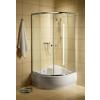 Radaway Premium A 1700/zuhanykabin tálca nélkül 90*90, króm profillal,többféle mint.bizt.üveggel